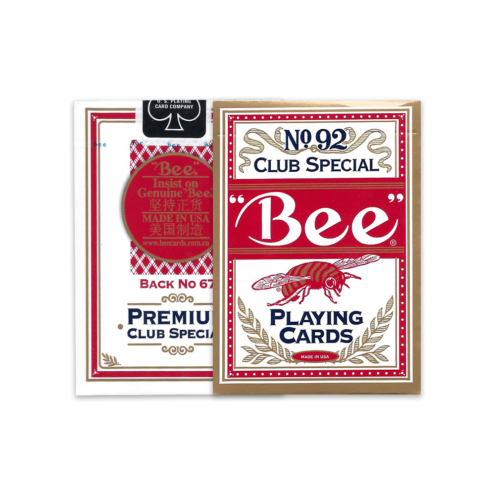 Bee marked cards, tag cards, cheat poker,cheat cards