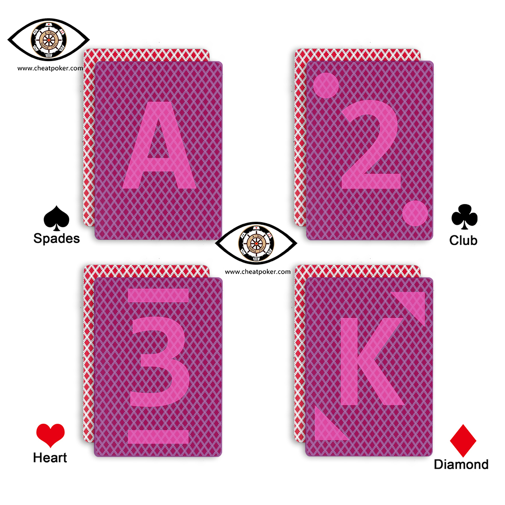 bird 888 infrared marked playing cards poker cheating