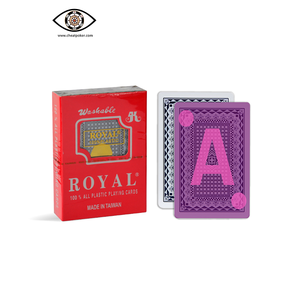 ROYAL, marked cards, tag cards, cheat poker,cheat cards