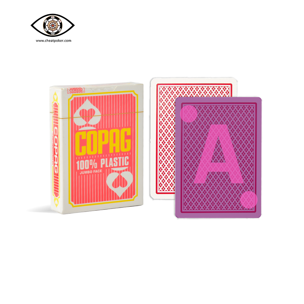 Copag marked cards poker cheating decks