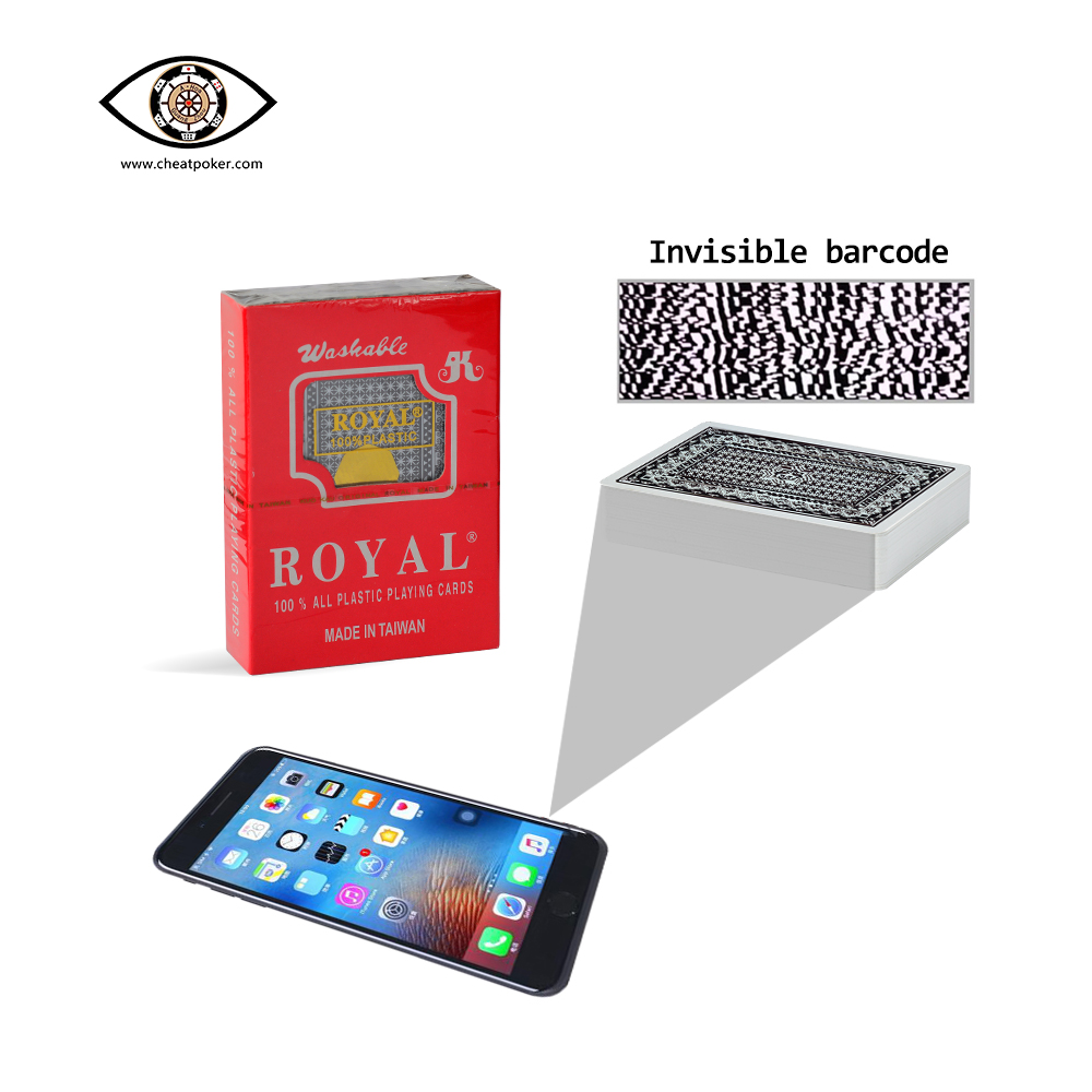 ROYAL,marked cards, tag cards, cheat poker,cheat cards