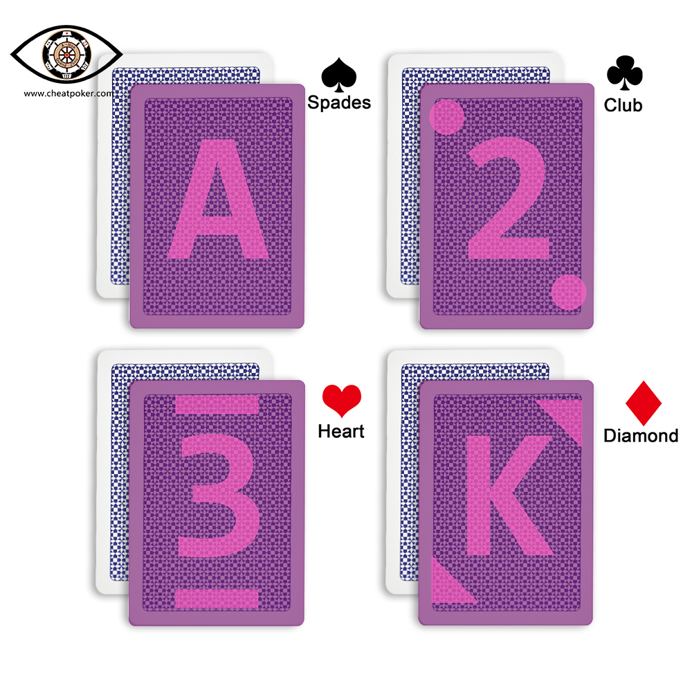 Copag marked playing cards invisible marks