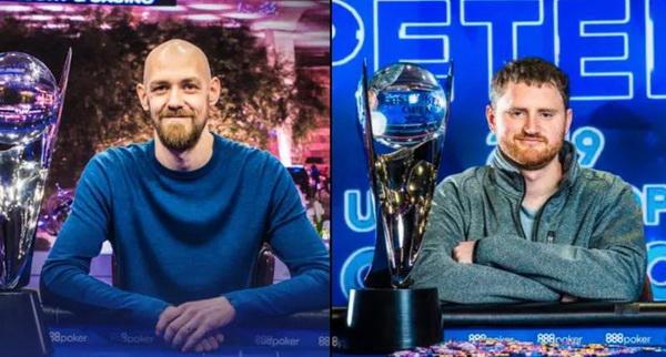 2018 USPO champion Stephen Chidwick and 2019 champion David Peters