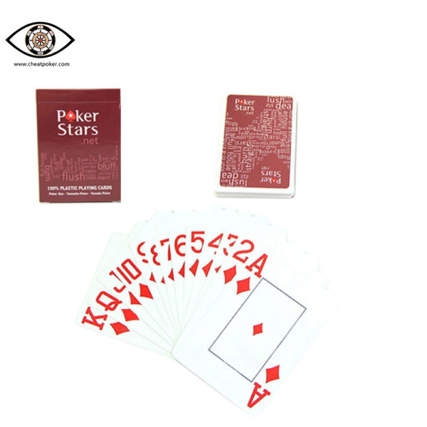 Pokerstars Infrared Marked Cards For Sale Uv Marked Playing Cards