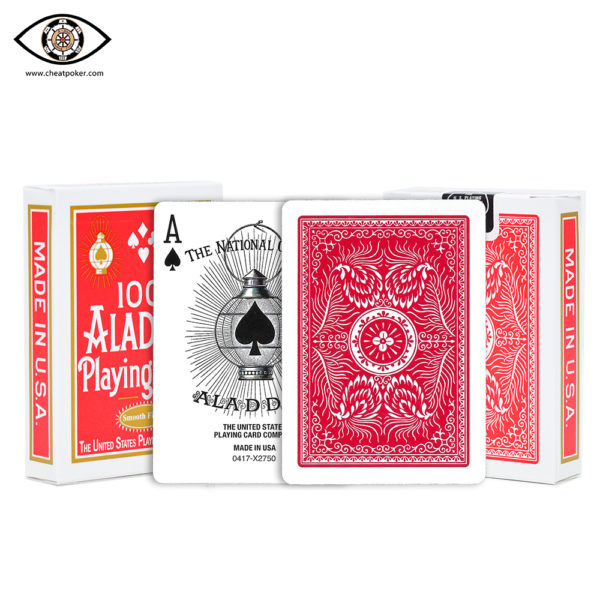 ALADDIN, marked cards, tag cards, cheat poker,cheat cards