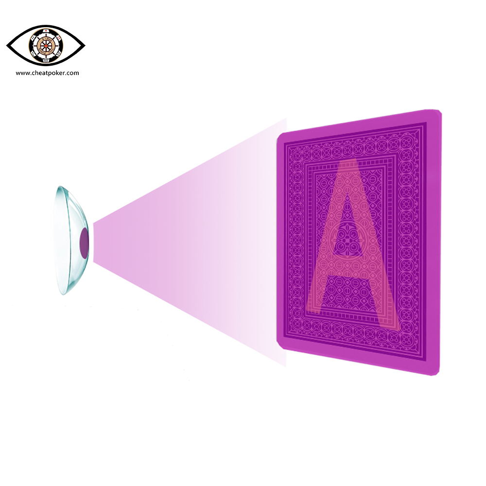 uv contact lenses for marked cards