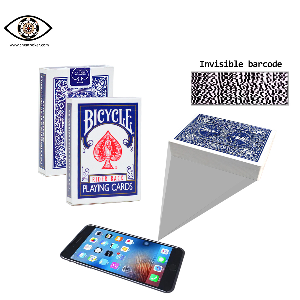 BICYCLE,marked cards, tag cards, cheat poker,cheat cards