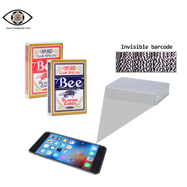 BEE,marked cards, tag cards, cheat poker,cheat cards