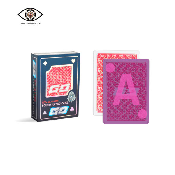 GG infrared marked cards