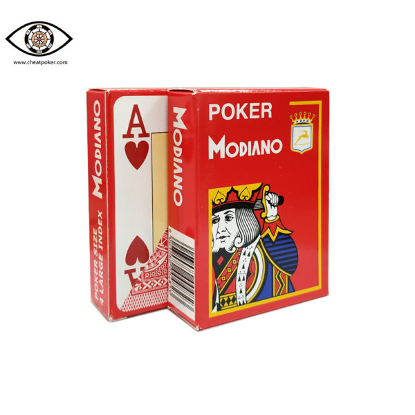 MODIANO,marked cards, tag cards, cheat poker,cheat cards