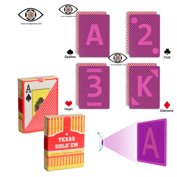 TEXAS HOLDEM, marked cards, tag cards, cheat poker,cheat cards