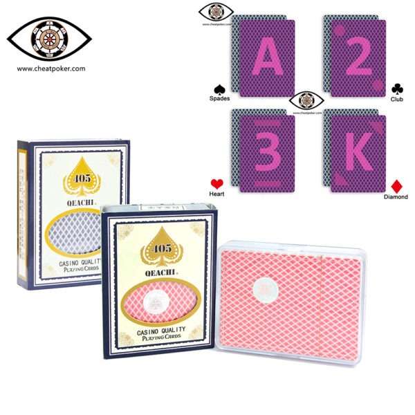 Infrared Marked Cards QEACHI 405