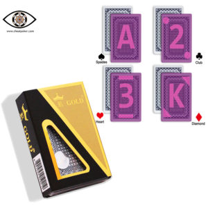 GOLD, marked cards, tag cards, cheat poker,cheat cards