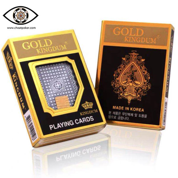 GOLD KINGDUM, marked cards, tag cards, cheat poker,cheat cards