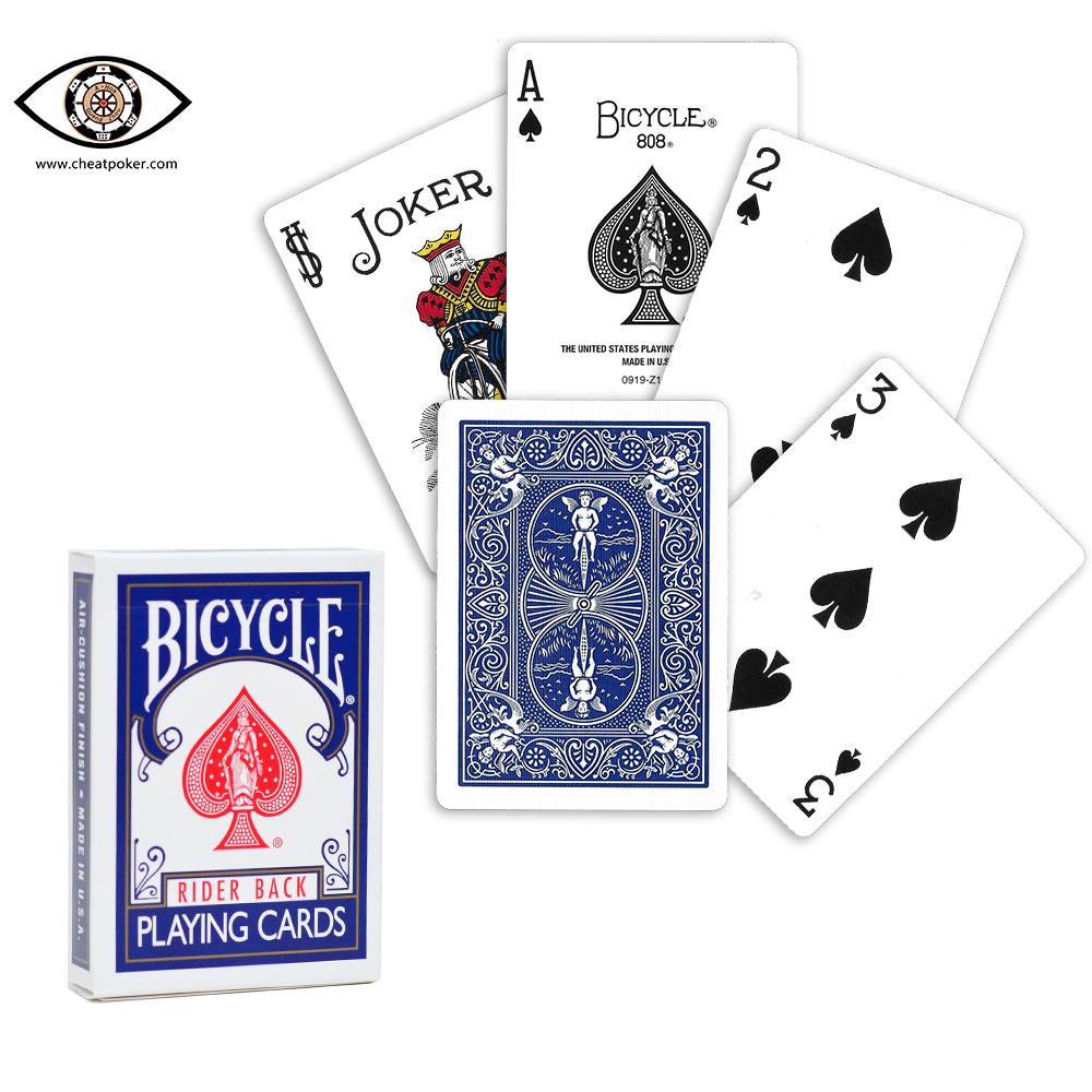 Bicycle marked cards poker cheating devices
