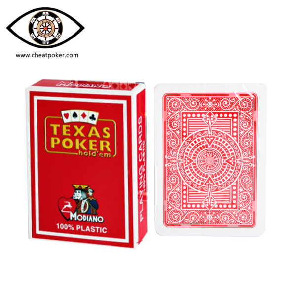 MODIANO TEXAS, marked cards, tag cards, cheat poker,cheat cards