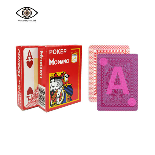 MODIANO, marked cards, tag cards, cheat poker,cheat cards
