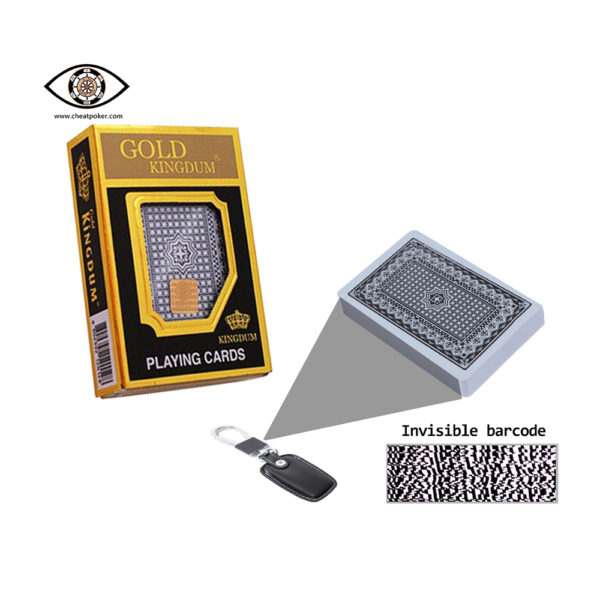 Gold kingdum,marked cards, cheat poker, tag cards,cheat cards