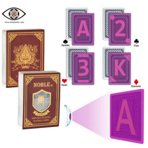 NOBLE, marked cards, tag cards, cheat poker,cheat cards