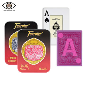 FOURNIER 2818, marked cards, tag cards, cheat poker,cheat cards