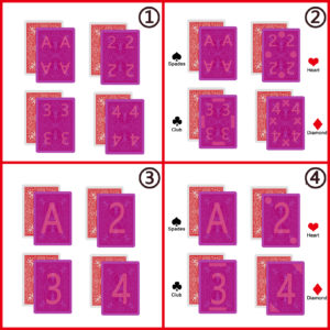 infrared marked cards' marks styles