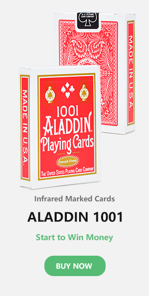 ALADDIN marked cards
