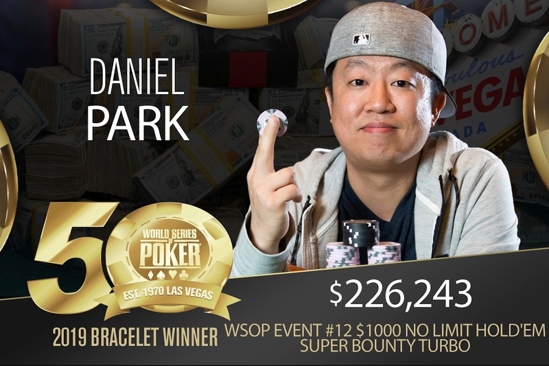 Daniel Park Won The WSOP Championship