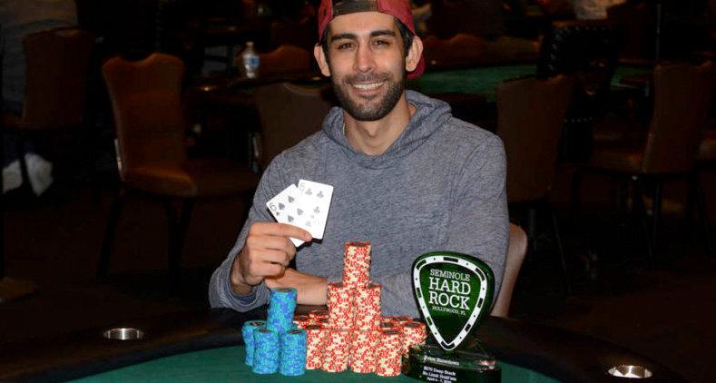 Nick Ahamdi poker event