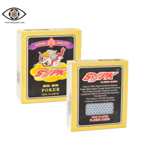 SYPK marked playing cards
