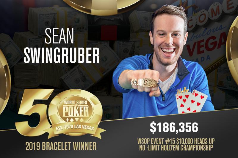 Sean Swingruber Won WSOP Championship