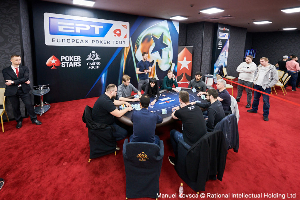 EPT Poker Event Final Table
