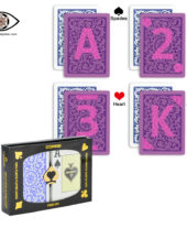 Copag UV marked playing cards red&blue suit