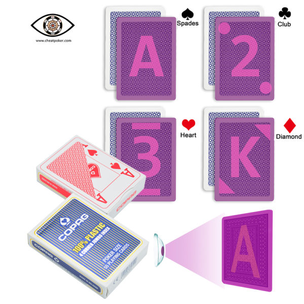 COPAG 4 Corner UV Marked Playing Cards