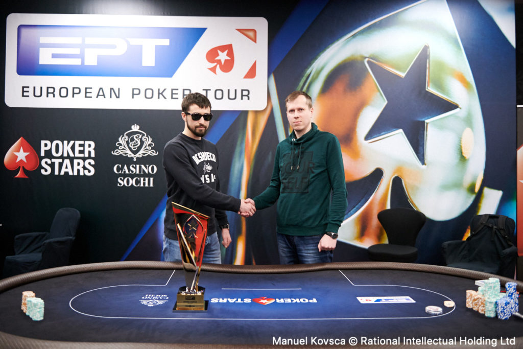 EPT Poker Event heads-up