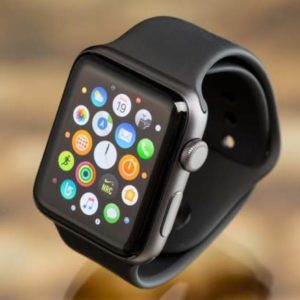 Apple Watch Scanner Camera