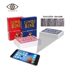 Marked Cards Modiano Jumbo Bike Cheat Poker