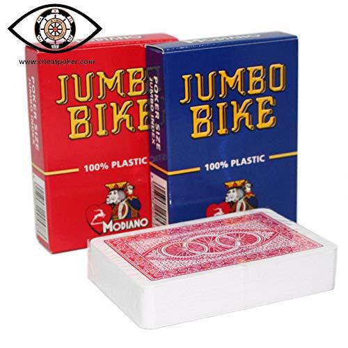 Modiao Cheat Poker Marked Playing Cards Jumbo Bike
