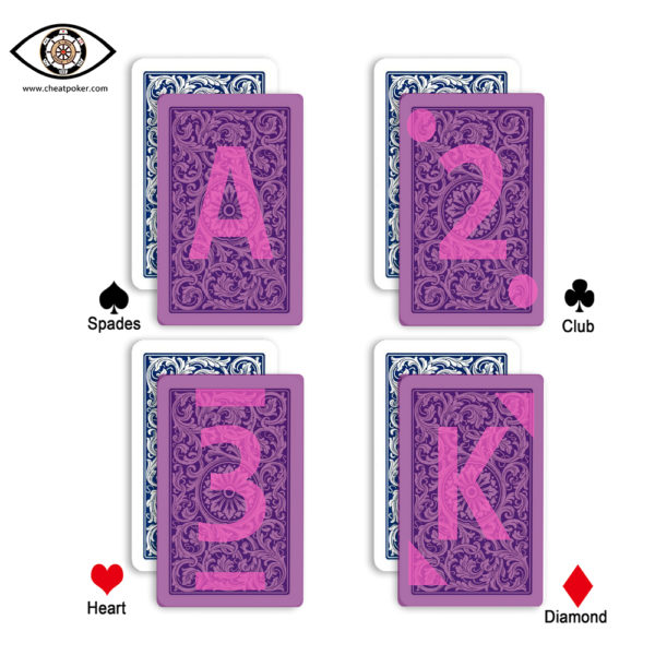 copag cards blue bridge size marked cards