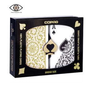 copag cards gold black regular index