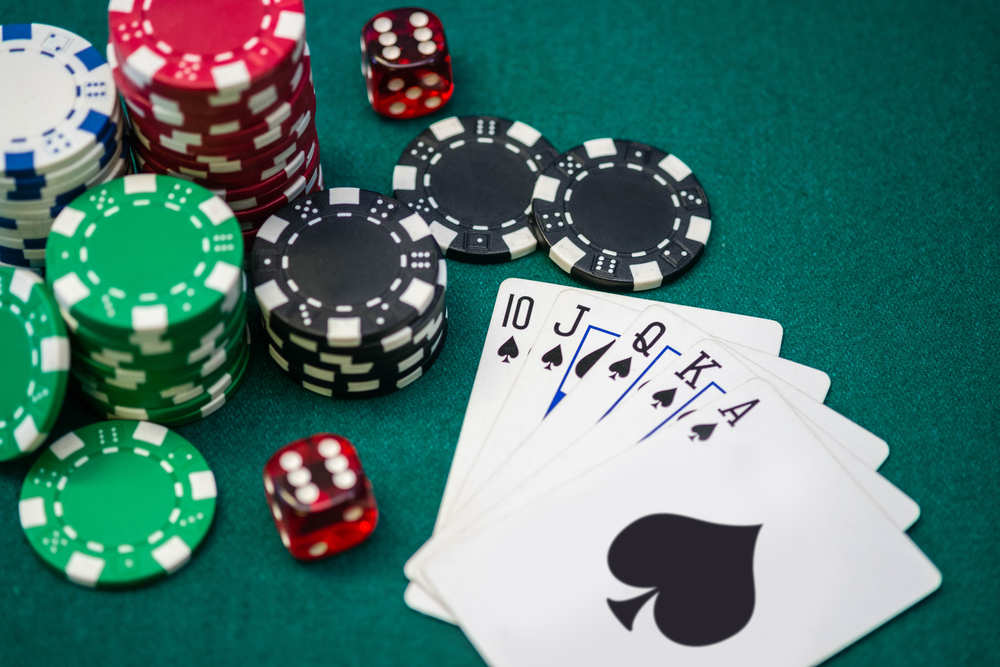 Variance in Texas Hold'em