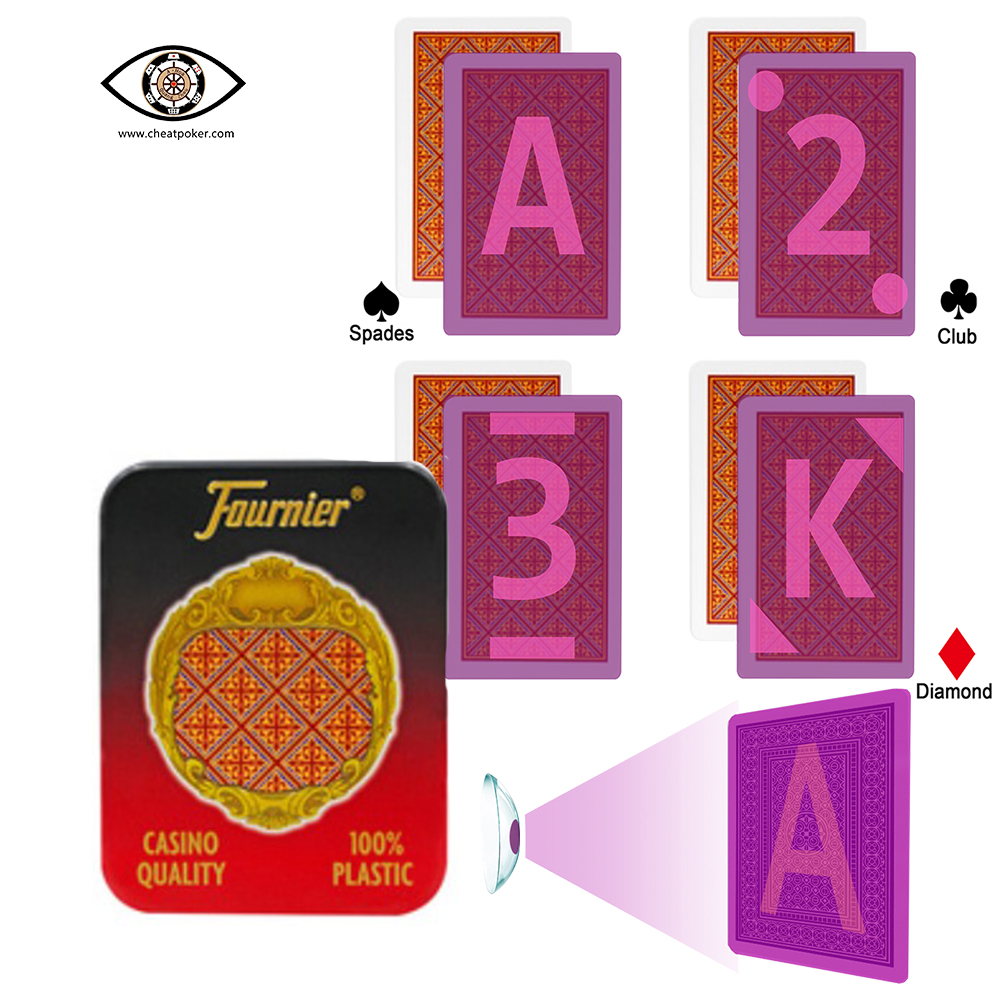 fournier 205 infrared marked cards