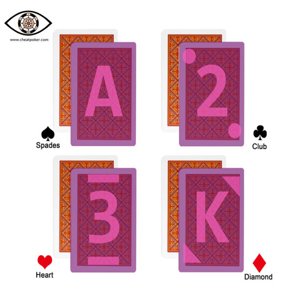 Fournier marked cards marks
