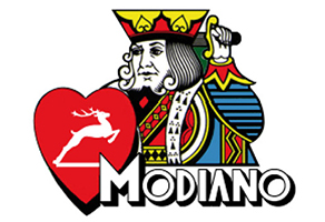 modiano playing cards logo
