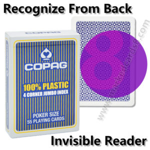 Copag 4 marked cards cheating poker contact lenses