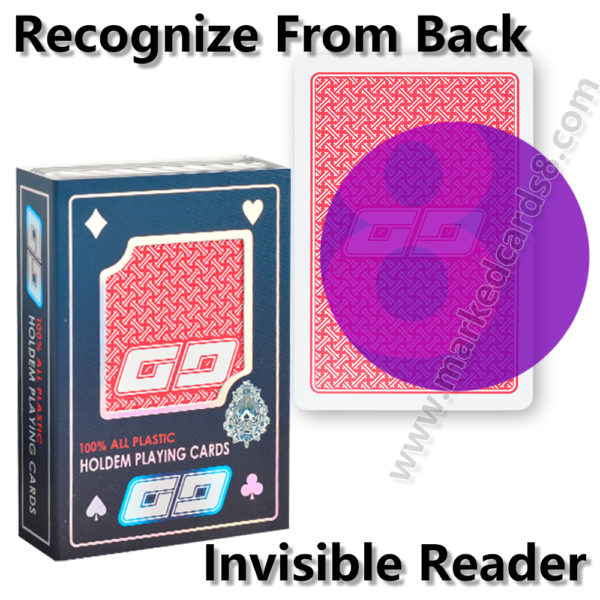 GG cheating poker marked cards contact lenses