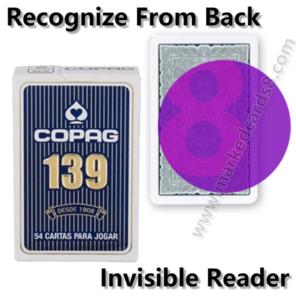 copag 139 marked cards cheating poker contact lenses