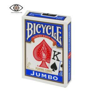 Jumbo bicycle marked cards blue